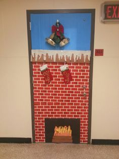 Classroom door