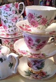 Pretty vintage english china