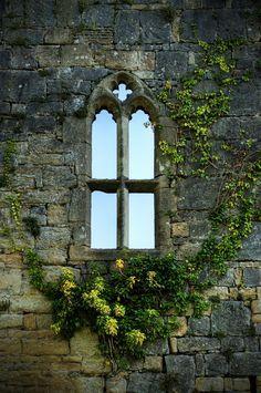 "witchedways: "" bonitavista: "" Caldicot Castle, Wales photo via vemona "" bewitched forest """