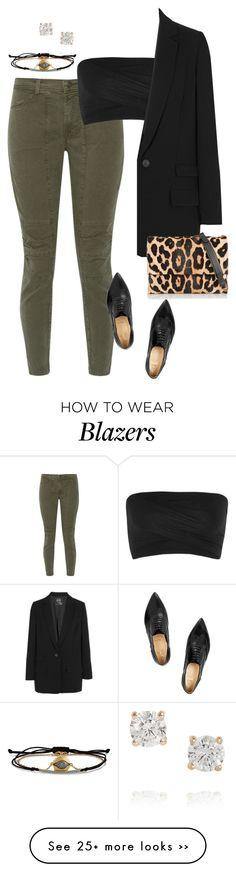 """""""Crepe blazer"""" by alwayswearwhatyouwanttowear on Polyvore"""
