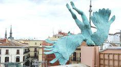 Angel Caido en MAdrid - Lucifer se la pega en una terraza madrileña c/ Milaneses,3 esquina con Mayor