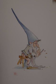 d Gnomes, Line Art, Pixie, Elf, Fairy, Collections, Fantasy, Sweet, Candy
