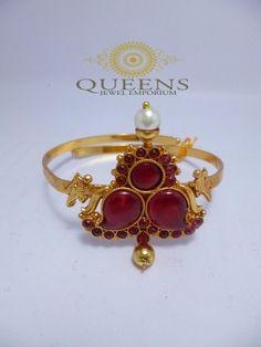 Antique mango kemp armlet | Queens Jewellery #Indian #Jewellery