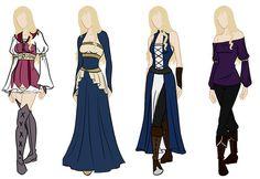 Frederique wardrobe reference by Amaethil.deviantart.com on @deviantART
