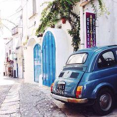 Fiat 500 a Peschici  ( da Matteo Acitelli su Instagram) http://ift.tt/1lxIEna Il sito dei cinquecentisti appassionati!