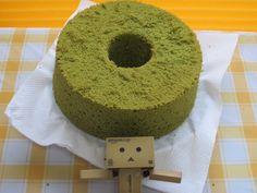 danboard loves a green tee chiffon cake