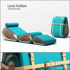 Louis Vuitton - Objets Nomades - Lounge chair