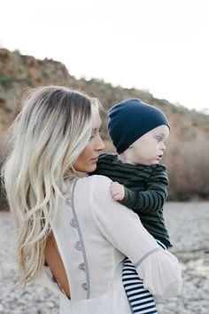 GreyLikesBaby GoldLeaf1411 Mother & Son