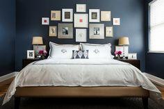 couleurs et décoration de cambre à coucher