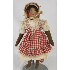 Early 1900s Babyland Rag Doll with All Original Clothes