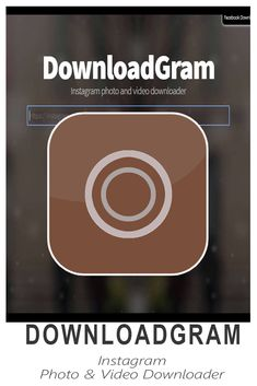 DownloadGram - The program allows you to download and backup Instagram photos and videos Great Apps, Instagram Photo Video, Virtual Assistant, Digital Marketing, Graphics, Photo And Video, Learning, Videos, Photos
