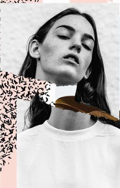 Interesting use of collage with the sliced throat - could use this style to reference the death of Carmen. Mixed Media Collage, Collage Art, Collages, Photomontage, Photoshop, Photography Collage, Collage Design, Collage Illustration, Fashion Collage