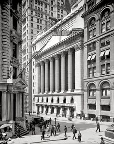 Walking through Wall Street is one of those endeavors that you have to experience for yourself to appreciate. It's like being in a grand canyon of incredible architecture. When the weather is sunny and mild it's just gorgeous!