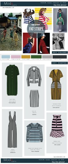 Design Your Next Fashion Collection Next Fashion, Mod Fashion, Stripes Fashion, Future Fashion, Fashion Flats, Woman Fashion, Trend Forecasting, Fashion Forecasting, Riga