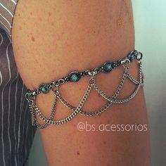 Belly Dance Jewelry, Body Chain Jewelry, Hand Jewelry, Body Jewellery, Wire Wrapped Jewelry, Wire Jewelry, Jewelery, Fancy Jewellery, Arm Bracelets