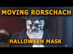 How to make a Rorschach mask that (kinda) moves!!!! I'm soooo doing this one year.