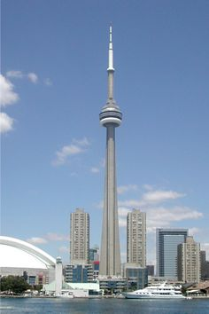 CN Tower - Toronto. Go to eat lunch up in their restaurant!