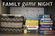 Family game night: tips + tricks. My son loves to play at family game night