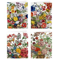 The Met Store -  Kensington Florals Notecards