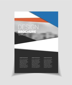 nice Brochure template  CreativeWork247 - Fonts, Graphics, Themes, Template...