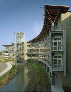 Heifer International Headquarters, Little Rock, Arkansas - Polk Stanley Wilcox Architects