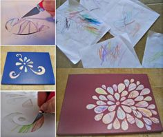 This idea for Toddler Scribble Art from The WHOot would make a great gift!