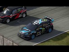 Ford Focus RS RX 565HP 2016 - YouTube Focus Rs, Ford Focus, Rally Car, Esports, Racing, Workout, Youtube, Fun, Running