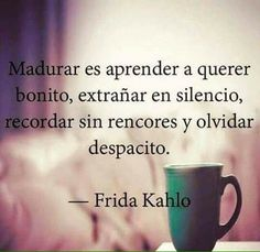 Read frida kahlo from the story Frases De Amor Y Canciones De Amor by (criss) with 361 reads. The Words, More Than Words, Great Quotes, Quotes To Live By, Me Quotes, Inspirational Quotes, Qoutes, Motivational, Frida Quotes