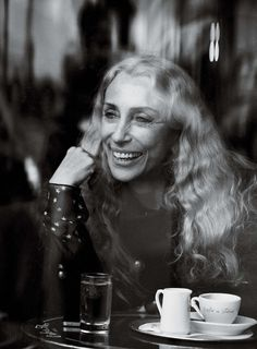 Franca Sozzani by Peter Lindbergh for Interview Magazine