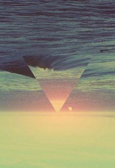 reversed triangle