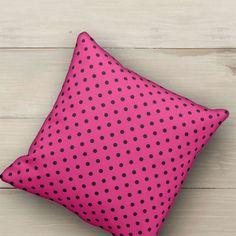 SOLD Pillow Hot Pink and Black Polka Dot https://www.zazzle.com/pillow_hot_pink_and_black_polka_dot-189715058120380490 #Zazzle #Pillow #pillows #cushions #Hot #Pink #Black #Polka #Dot #pois #polkadots #home #homedecor