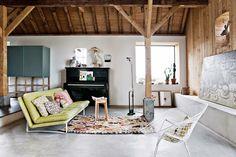 coffee in the sun: Mijn droomhuis voor vandaag: verbouwde boerderij v...