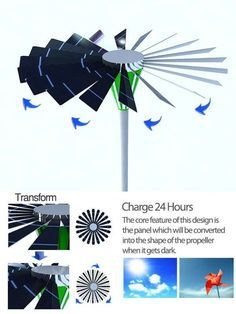 Solar Windmill Light - Independently wind turbines and solar panels have their shortfalls, but together they could be capable of incredible things. The Solar Windmill Lig...