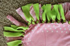 No sew fleece blanket   IMG_4945