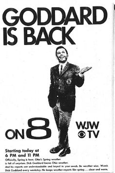 Huron tv stations with dick goddard