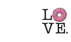 Donut Love Funny Food Humor