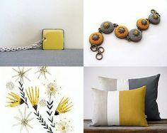 #handmade #crochet #textile #yellow #fiber #bracelet #earrings #minimalist #jewelry #jewellery #bronze #brass #silk #thread #bohemian #young #fashion #trends #spring #summer #crochet #sunny