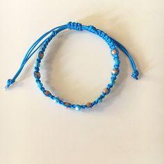 Macrame handmade bracelet Summer Story, Spring Summer 2018, Handmade Bracelets, Macrame, Beaded Necklace, Photo And Video, Instagram, Jewelry, Beaded Collar