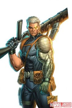 Cable by Rob Liefeld #cable #robliefeld