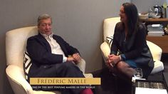 Interview with Frédéric Malle (Sep Teaser Mall, Yves Saint Laurent, Best Perfume, Givenchy, Dior, Interview, Good Things, Fictional Characters, Names