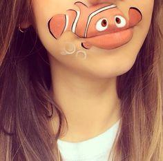 Cool Lip Makeup   cool-lip-makeup-characters-Nemo