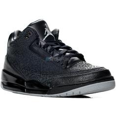 ad0d28f74c Air Jordan III (3) Black Flip ❤ liked on Polyvore Air Jordan Iii