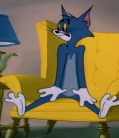 Tom And Jerry Memes, Tom And Jerry Cartoon, Cute Emoji Wallpaper, Cartoon Wallpaper, Cartoon Memes, Funny Cartoons, Defense Of The Ancients, Cartoon Profile Pics, Vintage Comics