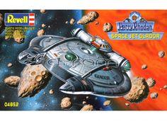PERRY RHODAN: Space Jet Glador, Science-Fiction Modellbausatz.