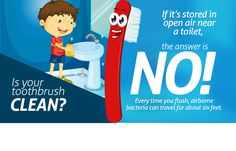 Where do you keep your toothbrush? Will you be moving it after reading this? #keepclean #dentistquincy