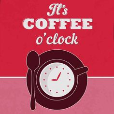 It's Coffee O'clock 1 Fine Art Print by Lorand Okos at FulcrumGallery.com