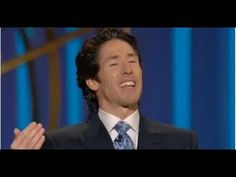 Inspirational words from God through a minister like Joel Osteen.