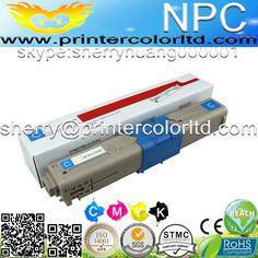 Color compatible toner cartridge for OKI 44973536 44973535 C301 C301DN C321 C321DN (2.2k/1.5k pages)