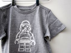 Lego Star Wars freezer stenciled tee - Rae Gun Ramblings