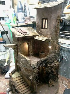 1 million+ Stunning Free Images to Use Anywhere Foam Board Crafts, Christmas Nativity Scene, Nativity Scenes, Christmas Crafts, Wargaming Table, Garden Nook, Pottery Houses, Medieval Houses, Free To Use Images